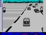 Turbo Cup ZX Spectrum On the grid for the race itself