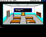 Police Quest: In Pursuit of the Death Angel Amiga Briefing Room