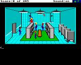 Police Quest: In Pursuit of the Death Angel Amiga Locker room and showers