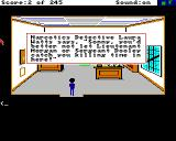 Police Quest: In Pursuit of the Death Angel Amiga Detective Laura Watts Office