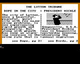 Police Quest: In Pursuit of the Death Angel Amiga The Lytton Tribune Newspaper
