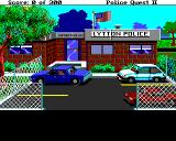 Police Quest 2: The Vengeance Amiga Lytton Police Station