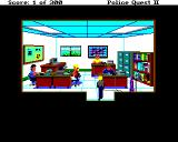 Police Quest 2: The Vengeance Amiga Narcotics Office