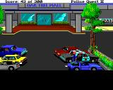 Police Quest 2: The Vengeance Amiga Oak Tree Mall Parking Lot