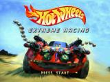 Hot Wheels: Extreme Racing PlayStation Title screen