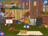 Little Bill Thinks Big Windows Little Bill instructs the player to click on the pumpkin picture