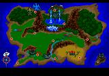 Revengers of Vengeance SEGA CD This map allows you to choose your opponent.