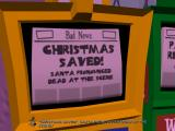 "Sam & Max: Season Two - Moai Better Blues Windows It should read ""Christmas saved by Sam & Max!""...those damn reporters."