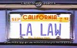 LA Law: The Computer Game DOS Title screen