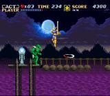 ActRaiser SNES Some enemies have relatively complex attack patterns.