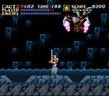 ActRaiser SNES A boss is preparing an attack.