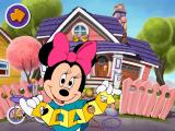 Disney's Mickey Mouse Toddler Windows Minnie displays an enthusiasm for shapes