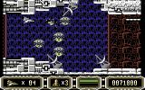 Enforcer: Fullmetal Megablaster Commodore 64 The radar dishes fire at regular intervals