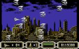 Enforcer: Fullmetal Megablaster Commodore 64 Lots of enemies...