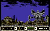 Enforcer: Fullmetal Megablaster Commodore 64 This boss can only be damaged at his lowest point