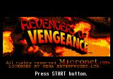 Revengers of Vengeance SEGA CD Title screen
