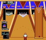 Championship Bowling NES Now I need time it to stop the ball in the 'Control' panel on the right.