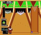 Championship Bowling NES The African man on lane 2.