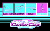 Turbo Cup DOS Main Menu