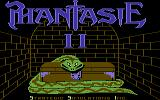 Phantasie II Commodore 64 Loading screen