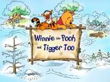 Disney's Animated Storybook: Winnie the Pooh & Tigger Too Windows Title screen