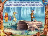 Disney's Animated Storybook: Winnie the Pooh & Tigger Too Windows The friends hatch a plot.