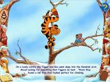 Disney's Animated Storybook: Winnie the Pooh & Tigger Too Windows Tigger discovers a sudden love for solid ground.