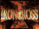 Iron Cross DOS Title screen