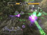 "Magic: The Gathering - Battlegrounds Windows The purple trail of a ""Viscous Hunger"" spell"
