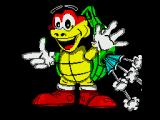 Turbo the Tortoise ZX Spectrum Loading screen