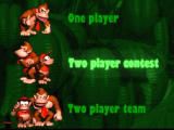 Donkey Kong Country SNES Options