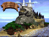 Donkey Kong Country SNES Nice world map