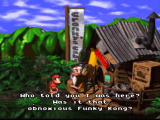 Donkey Kong Country SNES A conversation with a wise man