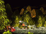 Donkey Kong Country SNES Boss battle