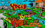 Yogi's Big Clean Up Atari ST Title screen