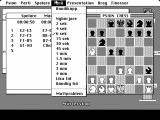 Psion Chess Macintosh Choose a time setting