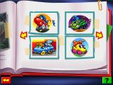 Fisher-Price Big Action Garage Windows Character thumbnails in the Scrapbook