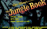 Disney's The Jungle Book DOS Title screen