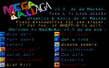 Megaball Amiga Title Screen (AGA graphics)