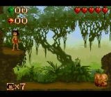 Disney's The Jungle Book SNES Starting location