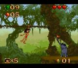 Disney's The Jungle Book SNES The check point