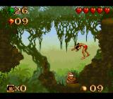Disney's The Jungle Book SNES These snakes will spring you up high.