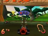 Looney Tunes Racing PlayStation Wascally Woods start