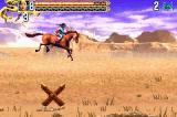 Crouching Tiger Hidden Dragon Game Boy Advance A horseback sequence