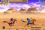 Crouching Tiger Hidden Dragon Game Boy Advance A fight with Dark Cloud while on horseback