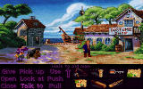 Monkey Island 2: LeChuck's Revenge DOS A costume shop, hey, maybe there's something inside I could wear