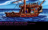 Monkey Island 2: LeChuck's Revenge DOS Enough talk, woman. It's time for some diving.