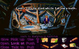 Monkey Island 2: LeChuck's Revenge DOS Well, and the fourth piece of the map is in safe hands.
