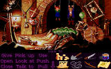 Monkey Island 2: LeChuck's Revenge DOS The only way to break free includes spitting. Strange, huh?