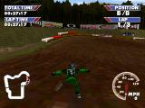 Championship Motocross Featuring Ricky Carmichael PlayStation Crashed.